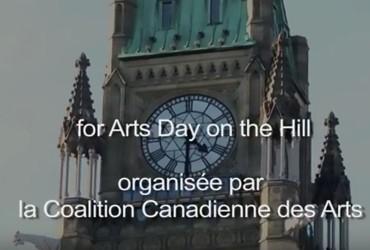 Journée des arts sur la Colline 2014 à Ottawa